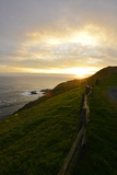 Sunset Over the Ocean at Point Reyes National Seashore
