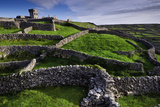 Castle O'Brian and Ancient Stone Walls on the Island of Inisheer