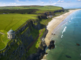 Mussenden Temple  a Folly on the North Irish Coast