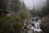 Cascade Falls in Yosemite National Park in Winter