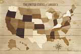 USA Modern Vintage Wood