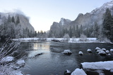 El Capitan Reflected in the Merced River