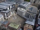 Paternoster Square and the London Stock Exchange Seen From St Paul's