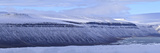 A Panoramic Shot of Fjords and Glaciers Around Croker Bay