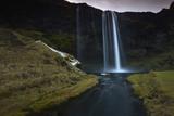 The 200 Foot Tall Seljarlandsfoss Waterfall