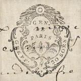 Letter Crest I