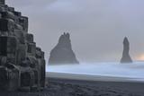 Basalt Columns at Reynisfjara Beach Near Vik