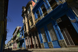 Sunlit Buildings in Old Havana