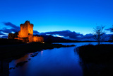 Ross Castle at Dusk in Killarney National Park  Kerry