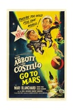 Abbott And Costello Go To Mars  1953  Directed by Charles Lamont