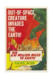 "The Giant Ymir  1957  ""20 Million Miles To Earth"" Directed by Nathan Juran"