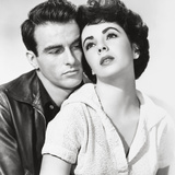 "Elizabeth Taylor  Montgomery Clift  ""A Place In the Sun"" Directed by George Stevens"