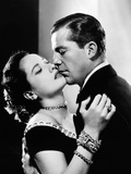 """Dana Andrews  Merle Oberon """"Memory of Love"""" 1948  """"Night Song"""" Directed by John Cromwell"""