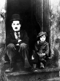 The Kid  Charlie Chaplin  Jackie Coogan  1921