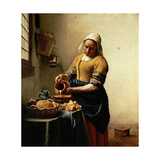 The Milkmaid  1660-1661