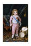 Un Infante Con Tambor Y Pandereta  1798-1802  Spanish School
