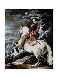 Equestrian Portrait of the Count-duke of Olivares  1634