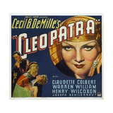 Cleopatra  1934  Directed by Cecil B Demille