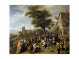 Village Feast  Ca 1650  Flemish School