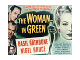 "Sherlock Holmes And the Woman In Green  1945  ""The Woman In Green"" Directed by Roy William Neill"