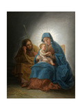 The Holy Family  Ca 1787  Spanish School