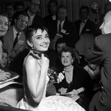 "Audrey Hepburn  1953 26th Annual Academy Awards  Best Actress for ""Roman Holiday"""
