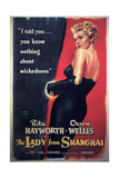 The Lady From Shanghai  Rita Hayworth  Directed by Orson Welles  1947