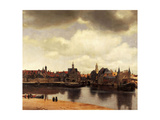 View of Delft  1658-1660