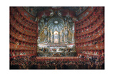 """Musical Party Given by Cardinal De La Rochefoucauld At the Argentina Theatre In Rome In 1747"