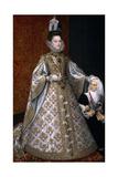 Isabel Clara Eugenia And Magdalena Ruiz  1585-1588  Spanish School