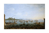 Carlos Iii Embarking In Naples'  1759  Italian School