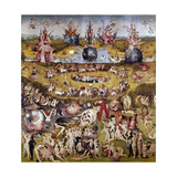 The Garden of Earthly Delights: Ecclesia's Paradise  1503-1504  Dutch School