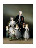 The Duke And Duchess of Osuna And Their Children  1787  Spanish School