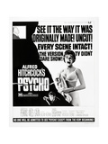 """Wimpy  1960 """"Psycho"""" Directed by Alfred Hitchcock"""