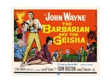 """The Barbarian  1958  """"The Barbarian And the Geisha"""" Directed by John Huston"""