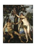 Adam And Eve  Ca 1550  Italian School