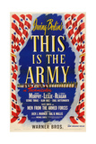 This Is the Army  1943  Directed by Michael Curtiz