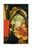 Inssenheim Altar: Annunciation  1515