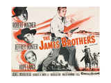 "Jesse James  1957  ""The True Story of Jesse James"" Directed by Nicholas Ray"