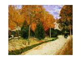 'Autumnal Garden' or 'The Public Park'  1888