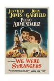 """Rough Sketch  1949  """"We Were Strangers"""" Directed by John Huston"""