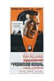 The Premature Burial  1962  Directed by Roger Corman