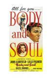 Body And Soul  1947  Directed by Robert Rossen
