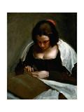 The Needlewoman  1635-1643  Spanish School