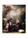 The Annunciation  Ca 1660  Spanish School