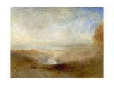 Landscape With a River And a Bay In the Distance  19th Century