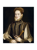 La Dama del Abanico  1570-1573  Spanish School