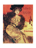 "Advertisement ""Rioja Winemodernist Style Early 20th Century Spain"