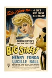 "Lucille Ball ""The Big Street"" 1942  Directed by Irving Reis"