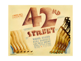 "Forty-second Street  1933  ""42nd Street"" Directed by Lloyd Bacon"